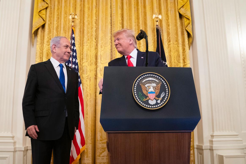 Trump Bibi Vision