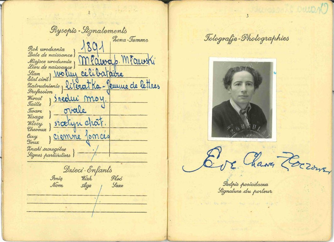 Eve Adams Passport