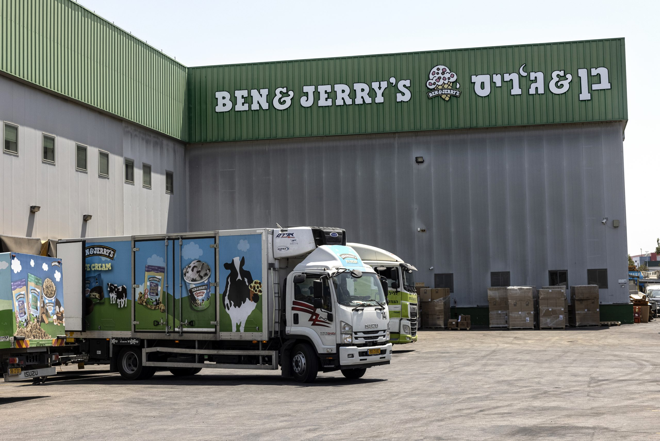 Ben & Jerry's Tests Anti-BDS Laws